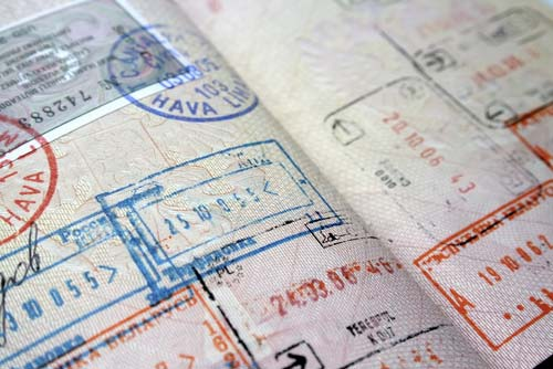 ВИЗЫ ВИЗЫ passport stamps
